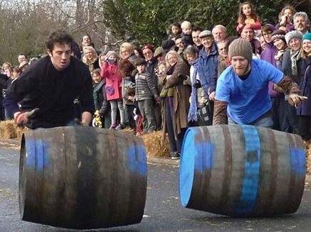 Grantchester Barrel race