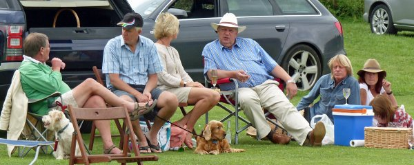 Members of GCC's Barking Army enjoying the Show